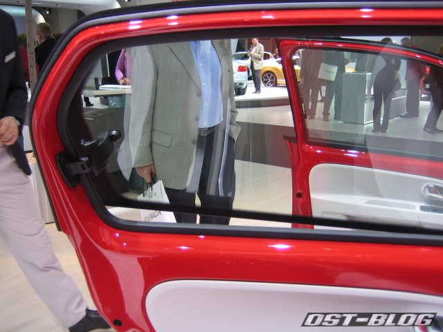 VW Up Ausstellfenster