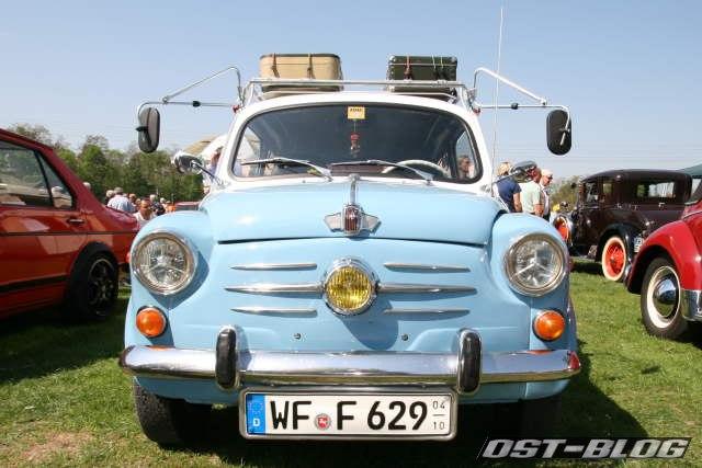 Fiat 600 Oldtimertreffen Braunschweig 2012