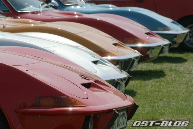 Opel GT Oldtimertreffen Braunschweig 2012