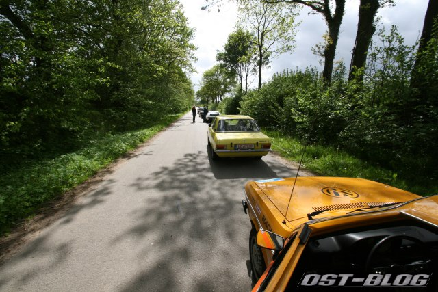 Passat 32 Tour de Nostalgie 2012 Warteschlange