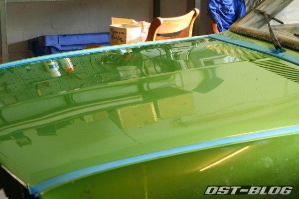 Motorhaube poliert Passat TS 1975