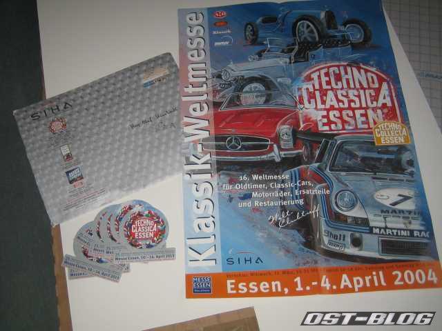 Techno Classica 2004 Plakat