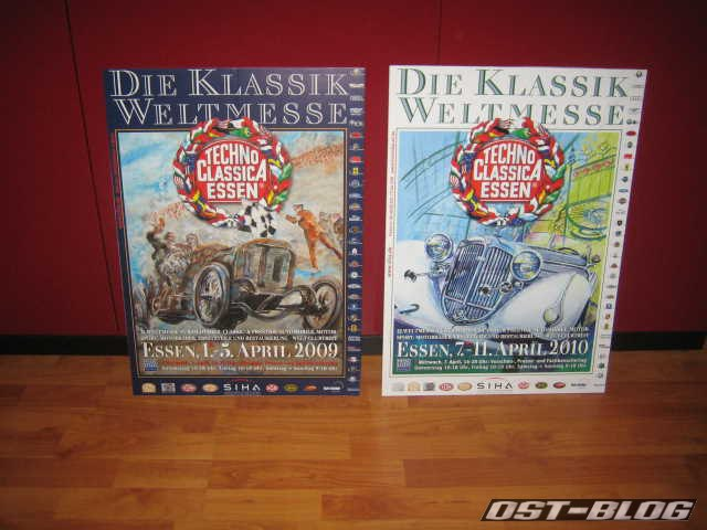 Techno Classica Essen Plakat 2009 2010