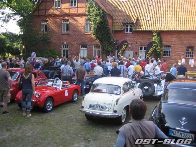 Heide-Histo 2012 Fahrerbesprechung