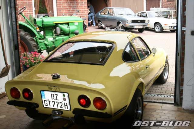 Opel GT-J 1972 VW Passat