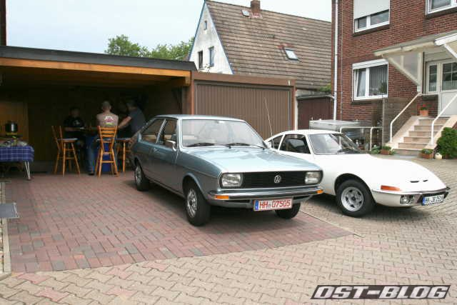 Opel GT  VW Passat
