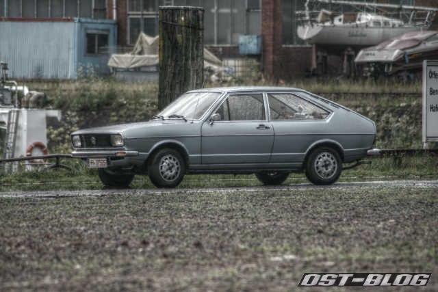 Passat 1974 HDR Front
