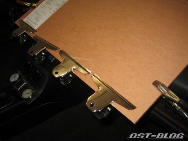 Rallye-Board Klammern