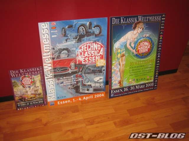 Techno Classica Plakate