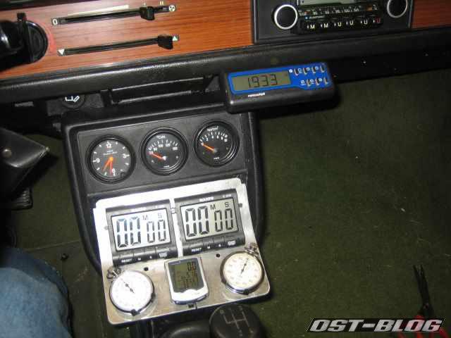 VDO minicockpit im Passat 32
