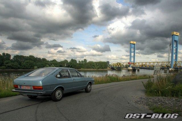VW Passat 1974 B1 HDR