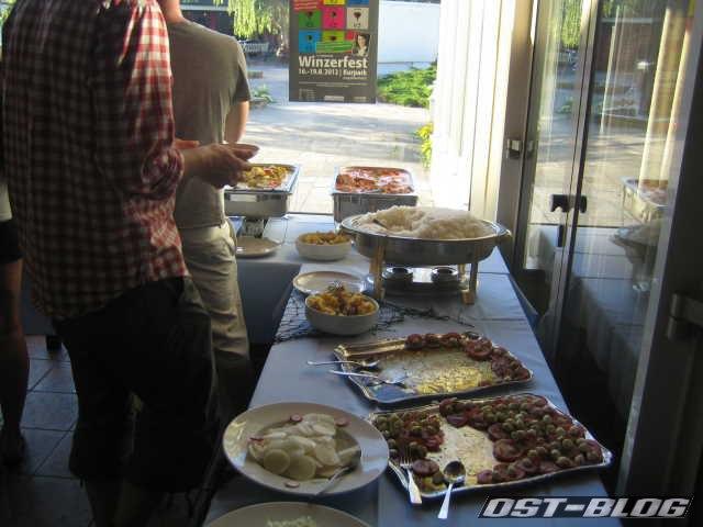 Cuxland-Oldtimer-Rallye 2012 Buffet