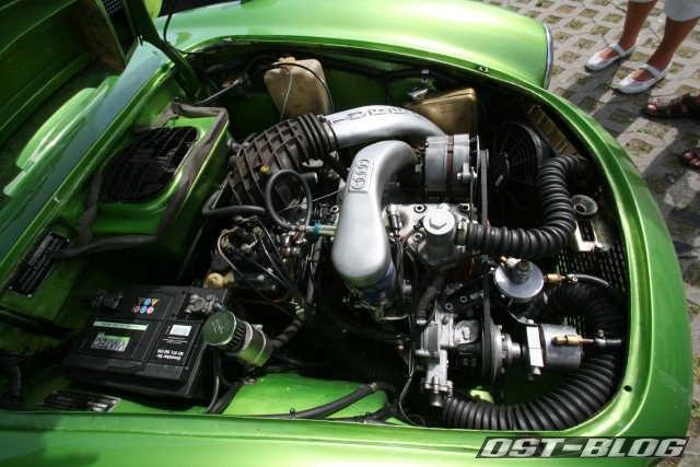 Cuxland-Oldtimer-Rallye 2012 DKW Monza Turbo