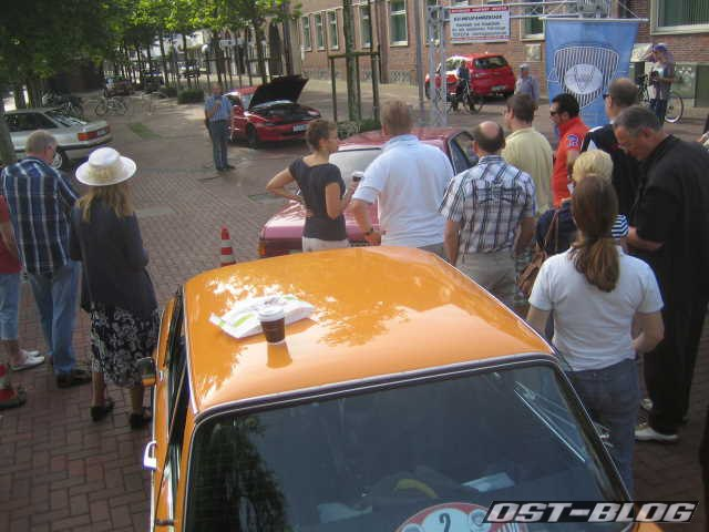 Cuxland-Oldtimer-Rallye 2012 Fahrerbesprechung