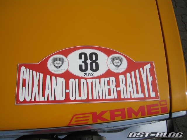 Cuxland-Oldtimer-Rallye 2012 Passat