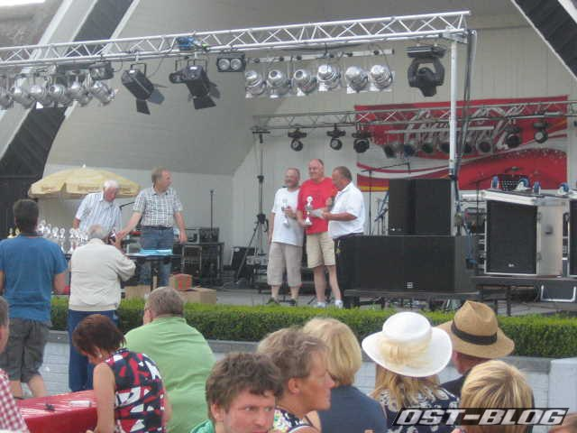Cuxland-Oldtimer-Rallye 2012 Siegerehrung