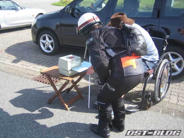 Cuxland-Oldtimer-Rallye 2012 Stempeluhr