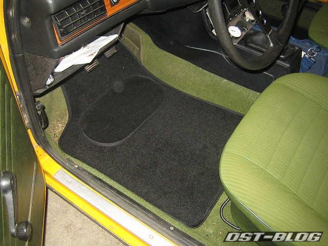 Fußmatten Passat 32 B1 schwarz