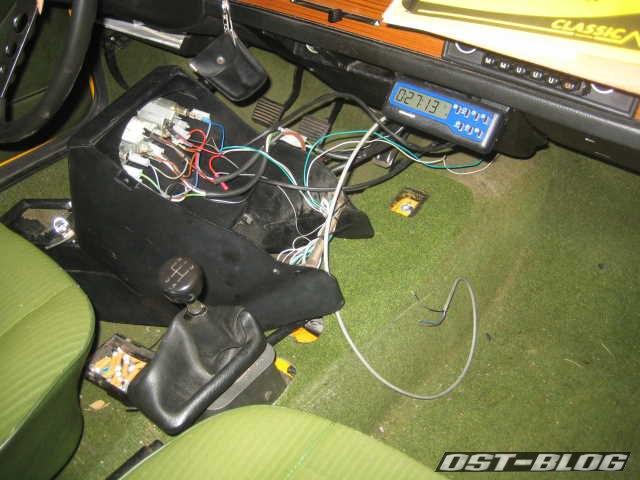 Kabel im Innenraum Passat B1 32 1976