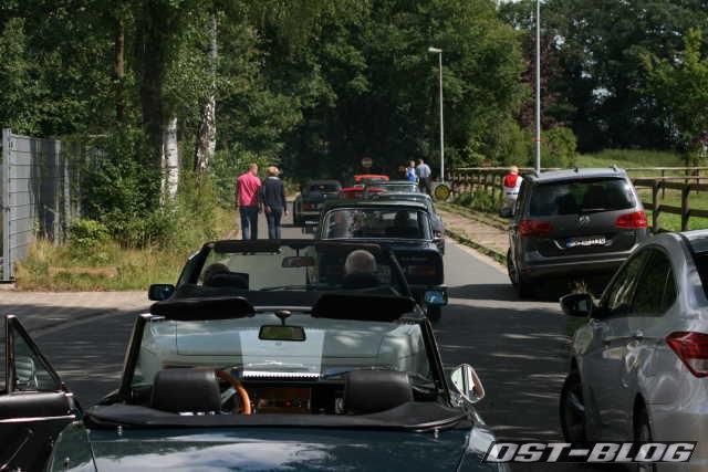Oldtimer Rallye Verden 2012 GLP Mittag