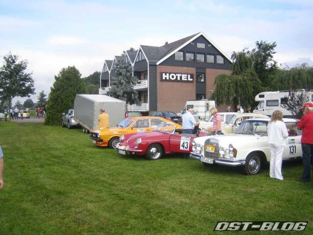 Oldtimer Rallye Verden 2012 Landhaus Badenhoop