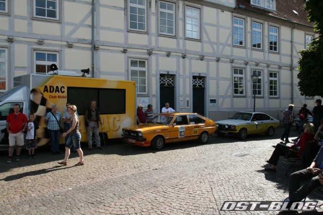 Oldtimer Rallye Verden 2012 Marktplatz Verden