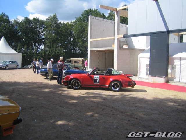 Oldtimer Rallye Verden 2012 Mittag