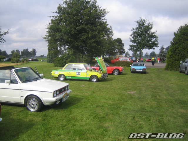 Oldtimer Rallye Verden 2012 Startplatz
