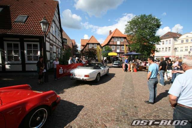 Oldtimer Rallye Verden 2012 ZK Marktplatz Verden
