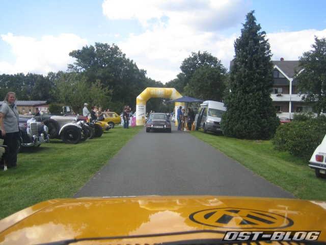 Oldtimer Rallye Verden 2012 Ziel
