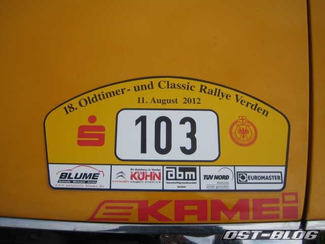 Oldtimer Rallye Verden 2012