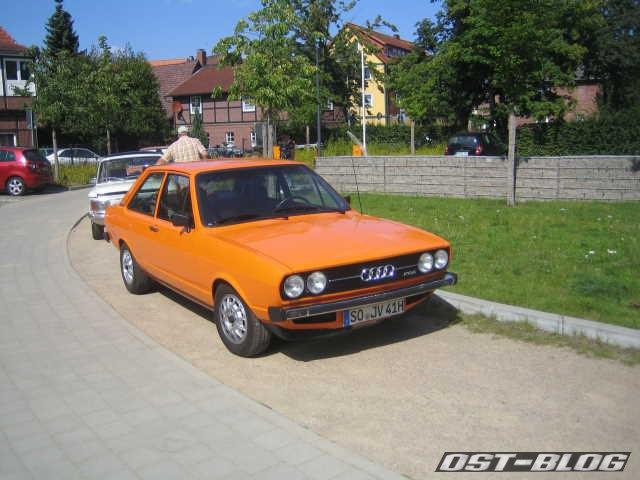 Oldtimertreffen Winsen-Luhe Audi 80 GTE