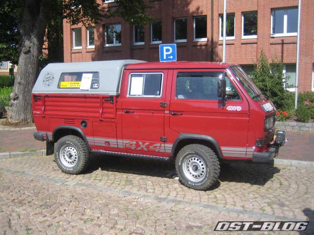 Oldtimertreffen Winsen-Luhe VW T3 Doka 4x4