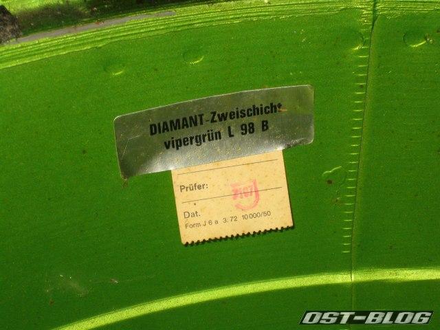 Passat 32 vipergrün l98B