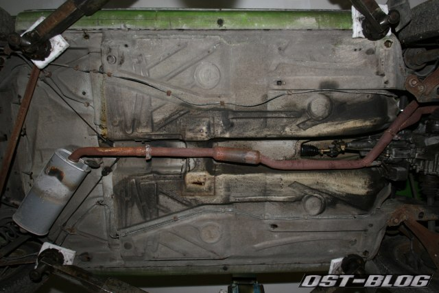 Passat TS 1975 Unterboden