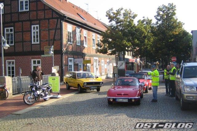 Rund um Rotenburg 2012 Einfahrt