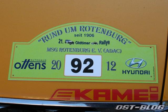 Rund um Rotenburg 2012 Startnummer
