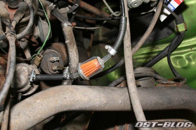 VW Passat TS B1 Kraftstofffilter