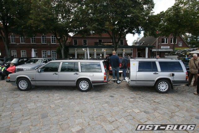 Volvo 940 mit Anhaenger