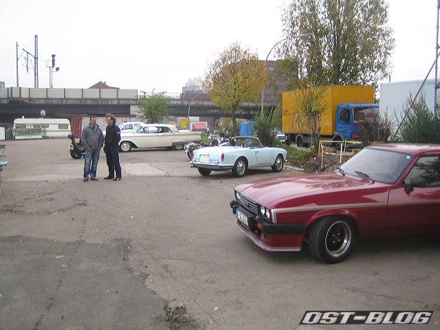 Oldtimer Tankstelle Feierabend
