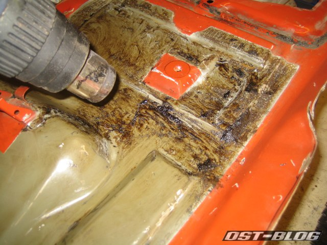 Heißluftfoen Bitumenmatte