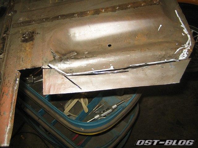 Passat 32 Reparaturblech