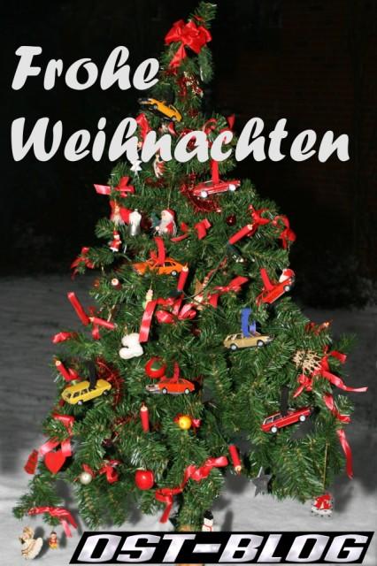 OST-Blog Frohe Weihnachten