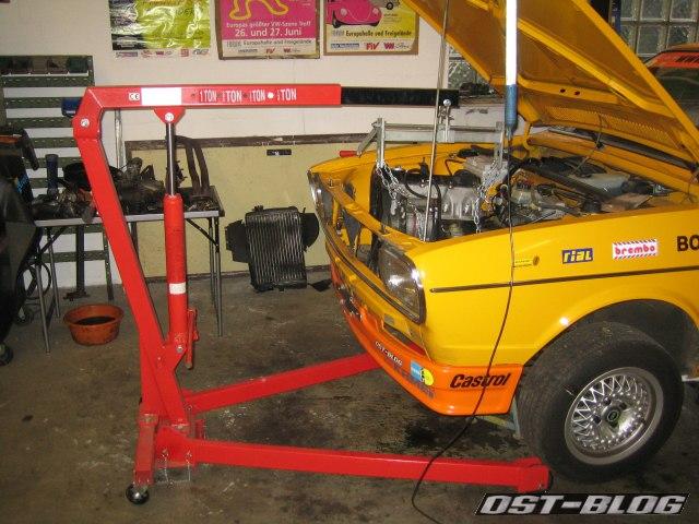 Passat 32 Motorausbau