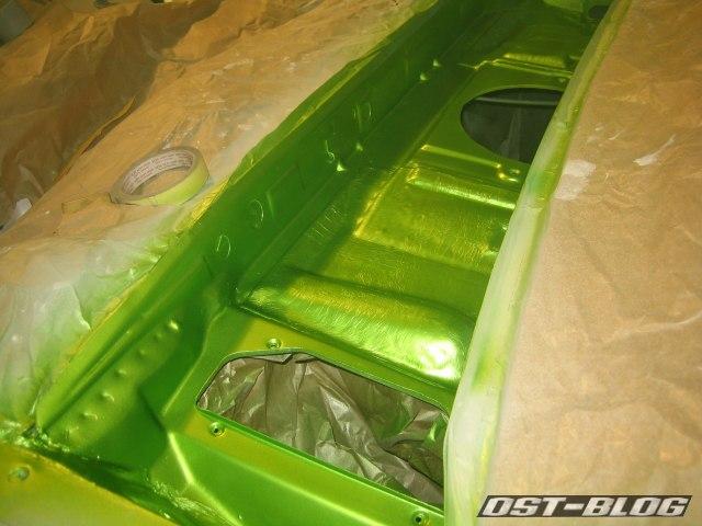 Passat 32 Wasserkasten viperngrün