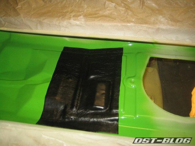 Passat TS Bitumenmatte verklebt