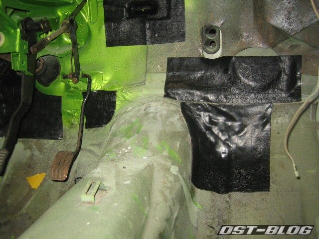 Passat TS Bitumenmatten Innenraum