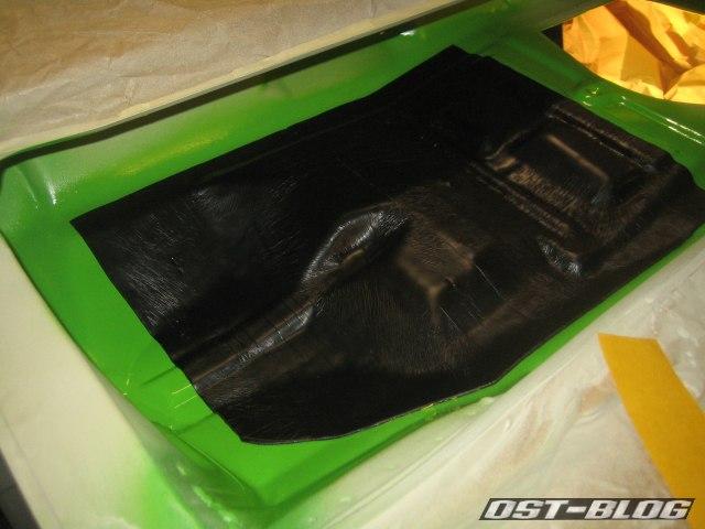 Passat TS Bitumenmatten Wasserkasten