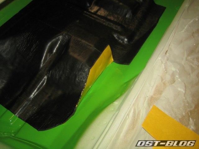 Passat TS Bitumenmatten schneiden