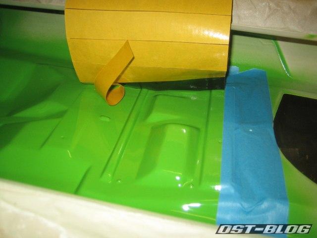Passat TS Bitumenmatten verkleben